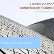 sector de maquinaria ceramica 2014_resumen