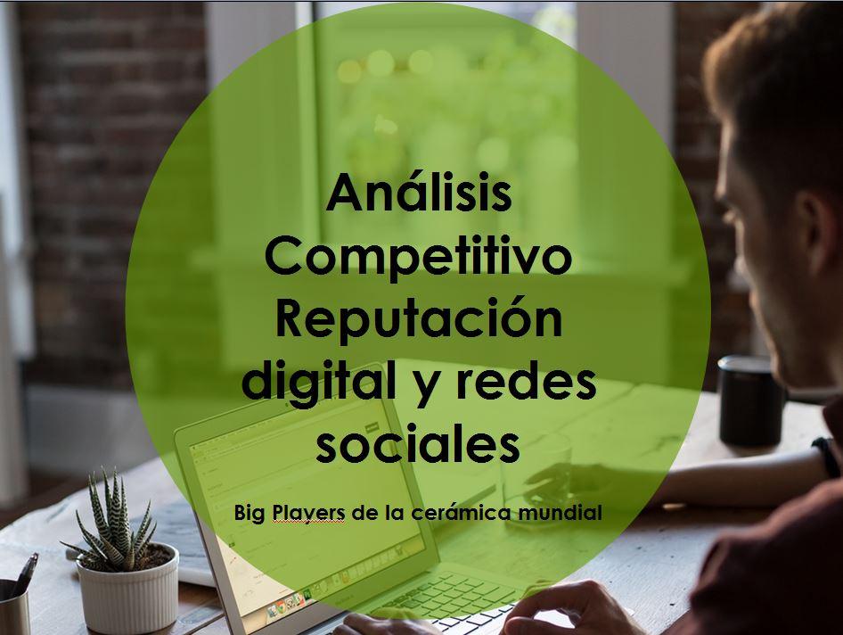 Análisis competitivo de Reputación digital y redes sociales