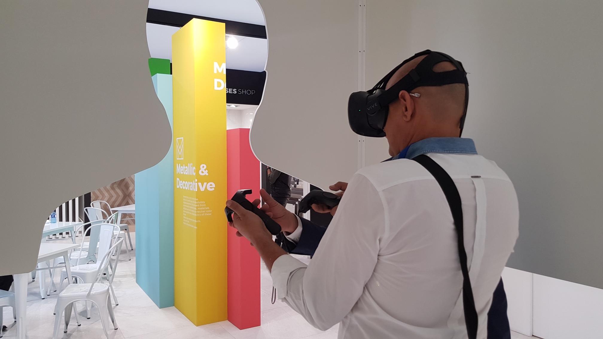 La realidad virtual y aumentada en el sector cerámico